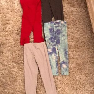 Other - Bundle of 4 pairs of  3t leggings  ....